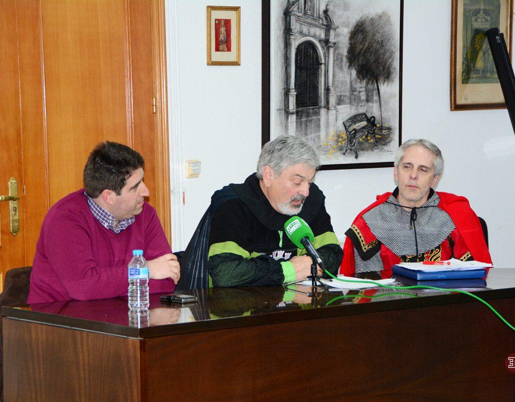 También Se Entrevistó A Eliseo Castilla (Presidente De La Asociación Amigos De Castilla), Con La Que Hizo HERMANAMIENTO La Asociación ENCOMIENDA DE MONTIEL.