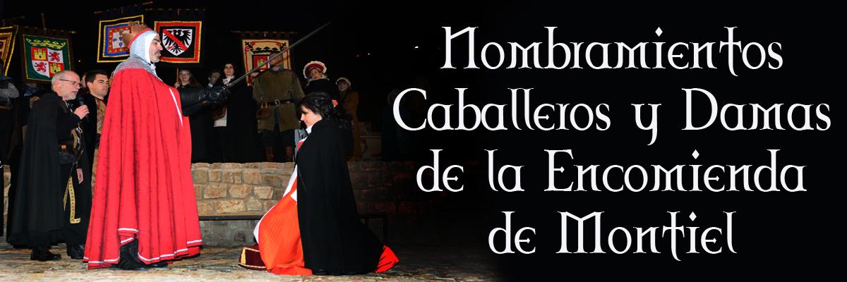 Nombramientos De Caballeros Y Damas De La Orden De Santiago Y Encomienda De Montiel