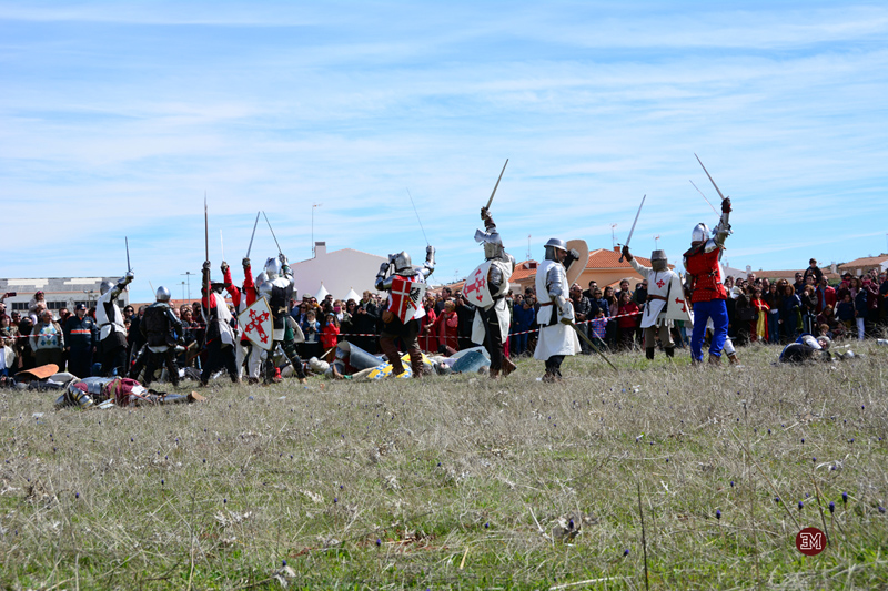 Las tropas de Enrique II ganan la batalla
