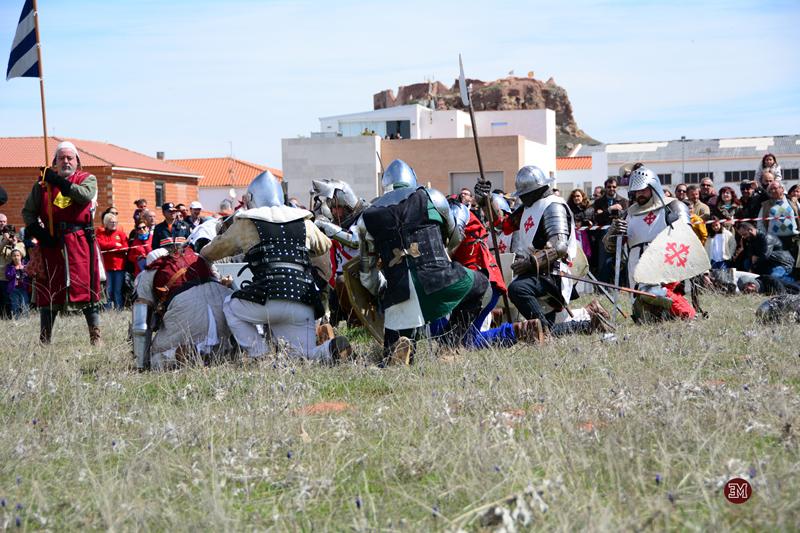 Soldados caidos en la batalla