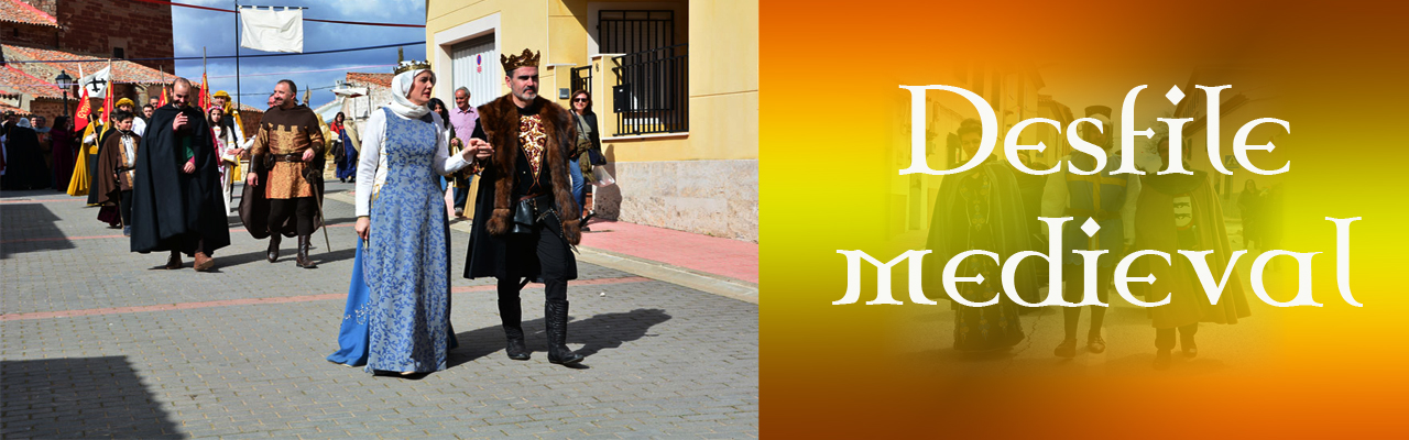 Montiel Medieval 2018. Desfile Medieval