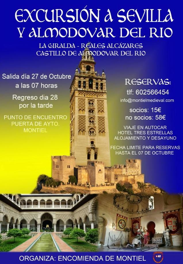 Excursión a Sevilla y Almodovar del Rio - Montiel Medieval