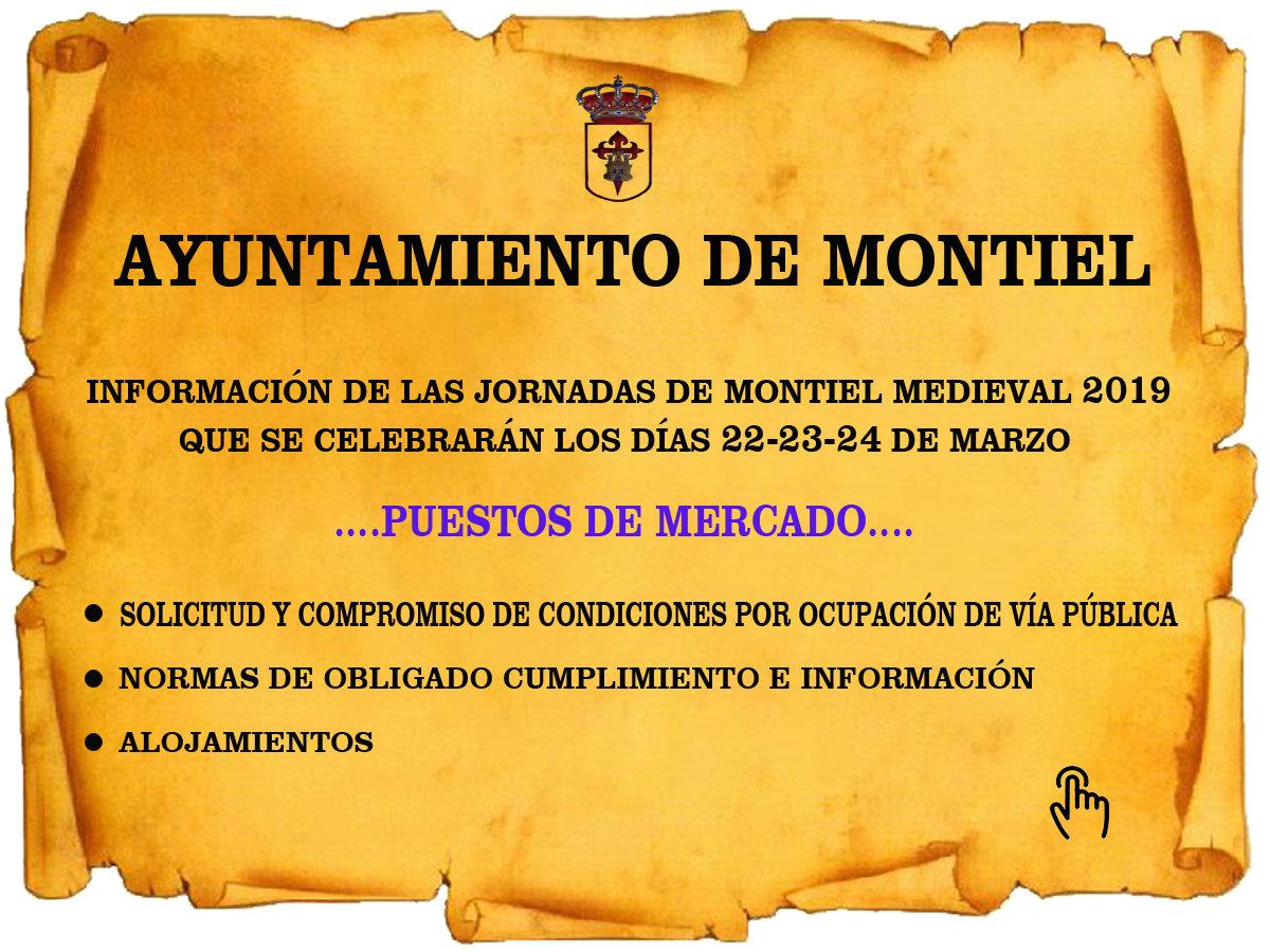 Información Jornadas de Montiel Medieval 2019