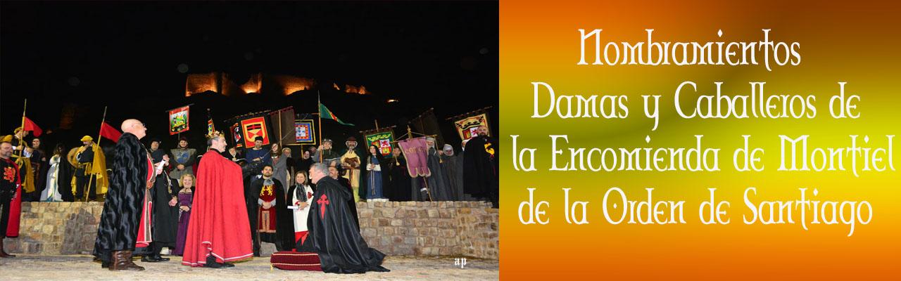 Montiel Medieval 2019.Nombramientos De Damas Y Caballeros De La Encomienda De Montiel, De La Orden De Santiago