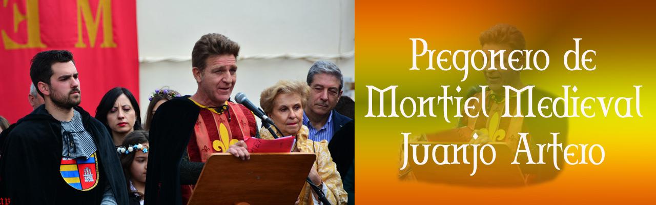 Montiel Medieval 2019. Pregonero De Montiel Medieval Juanjo Artero