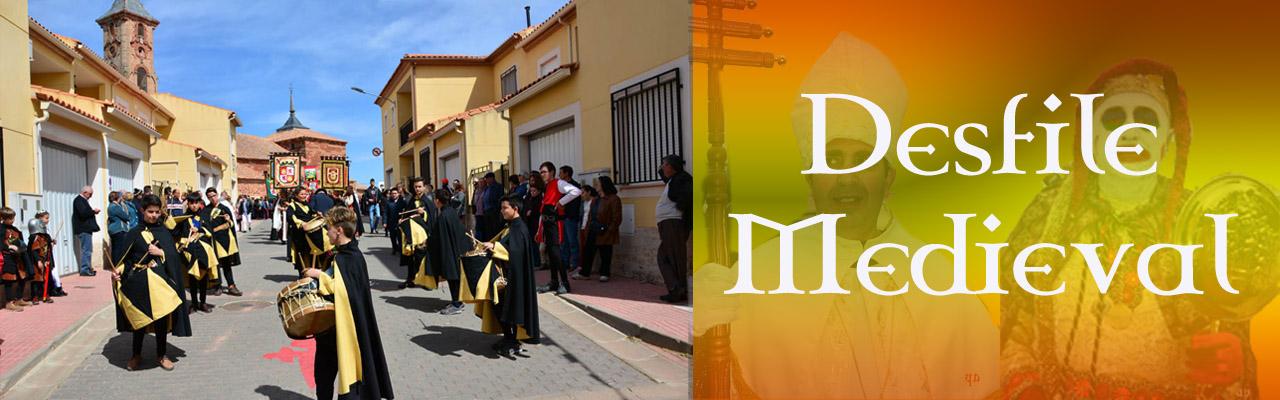 Montiel Medieval 2019. Desfile Medieval