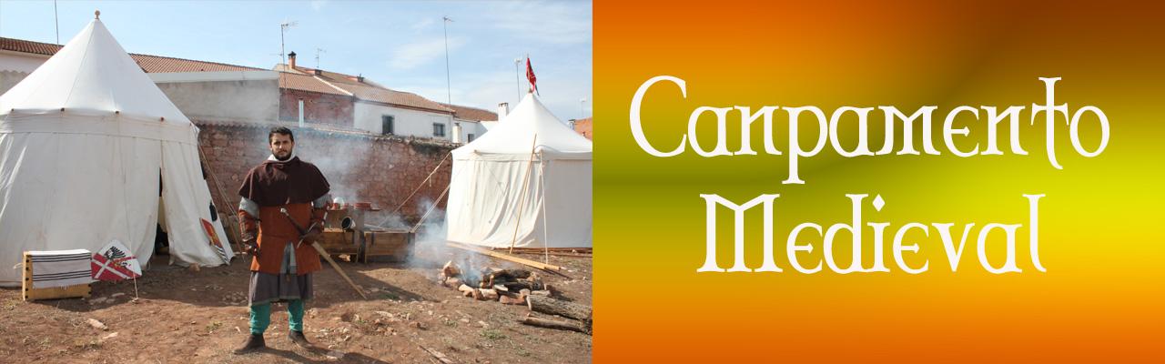 Montiel Medieval 2019. Campamento Medieval