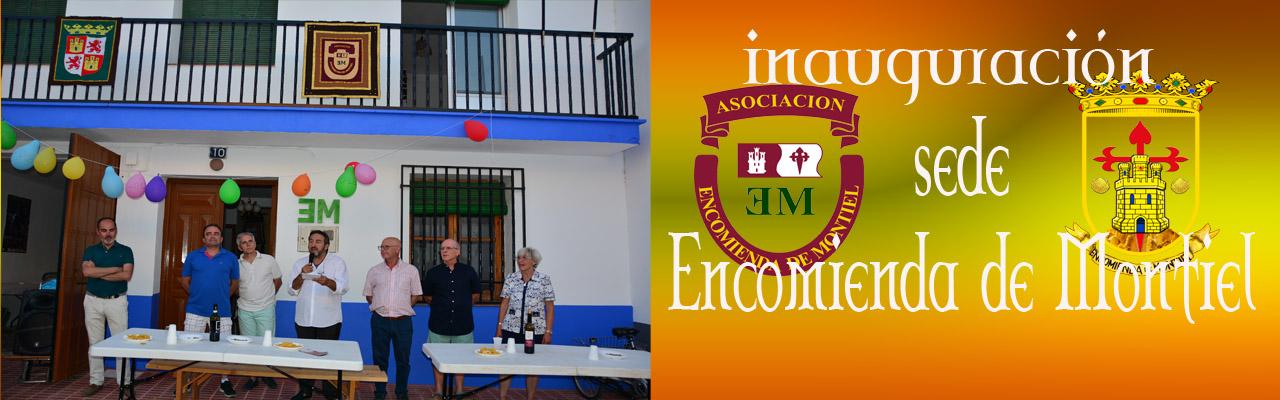 Inauguración Sede De Encomienda De Montiel Agosto 2019